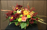 Harvest Basket Basket Arrangement