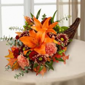 Harvest Blessings Thanksgiving  Arrangement
