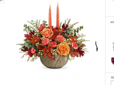 Harvest centerpiece  Ceramic centerpiece