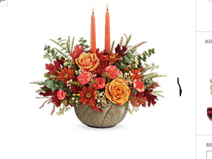 Harvest centerpiece  Ceramic centerpiece  in Fairfield, OH | NOVACK-SCHAFER FLORIST