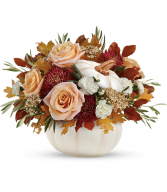 Harvest Charm  All-Around Floral Arrangement