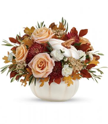 Harvest Charm  All-Around Floral Arrangement