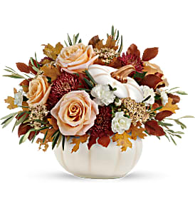 Harvest Charm Fall Bouquet in Whitesboro, NY | KOWALSKI FLOWERS INC.