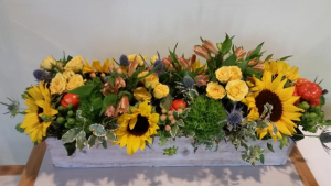 Harvest Classic Centerpiece in Chappaqua, NY | ART OF FLOWERS
