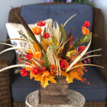 Harvest Delight Silk Floral Arrangement
