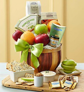 harvest fruit and gourmet basket