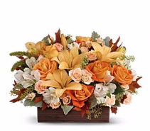 Harvest Garden Basket Arrangement