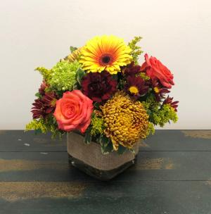 Harvest Gathering Vase Arrangement in Bluffton, SC | BERKELEY FLOWERS & GIFTS