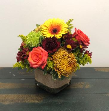 Harvest Gathering Vase Arrangement