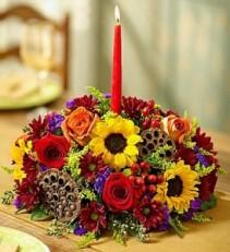 Harvest Glow Centerpiece Roma florist