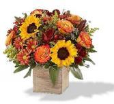 Harvest Glow Floral Bouquet
