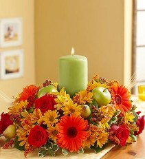 HARVEST GLOW TM CENTERPIECE