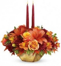 Harvest Gold Centerpiece Thanksgiving