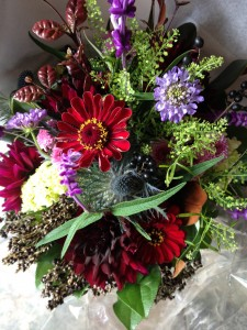 Harvest  Handtied Bouquet