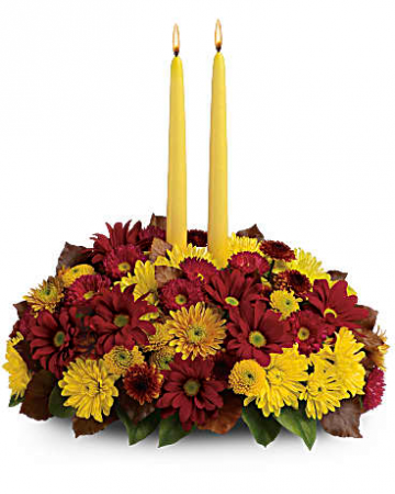Harvest Happiness Thanksgiving Centerpiece