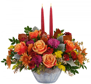 Harvest Jewels Centerpiece in Winnipeg, MB | CHARLESWOOD FLORISTS