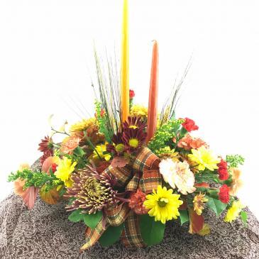 Harvest Medley Autumn arrangement