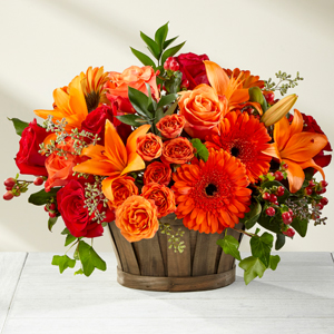 Harvest Memories™ Basket  in Valley City, OH | HILL HAVEN FLORIST & GREENHOUSE