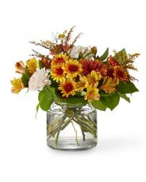 Harvest Moon Bouquet Flower Arrangement