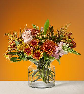 Harvest Moon Vased Arrangement