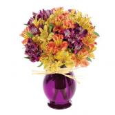 Harvest Peruvian Lily Bouquet Floral Arrangement