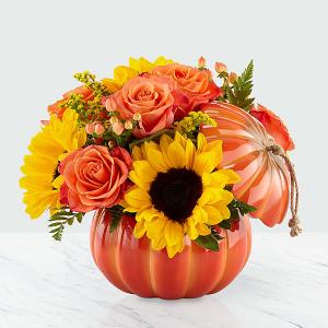 Harvest Pumpkin  in Whitehall, PA | PRECIOUS PETALS FLORIST