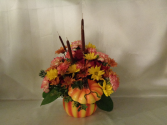 Harvest Pumpkin Arrangement (local delivery only)