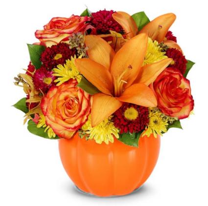 Harvest Pumpkin Bouquet