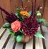 Harvest Pumpkin Keepsake Flower Arrangement