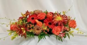 Harvest Season  Centerpiece in Coral Springs, FL | Hearts & Flowers of Coral Springs