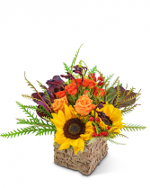Harvest Season Flower Arrangement