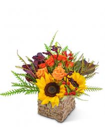 Harvest Season Flower Arrangement