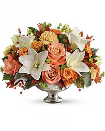 Harvest Shimmer Centerpiece Bouquet