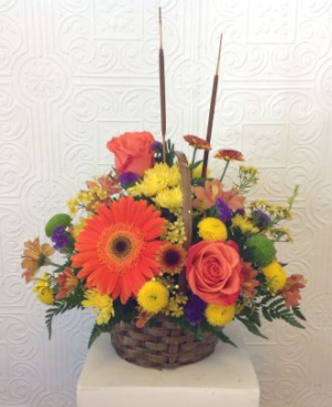 harvest special Basket of Flowers in Regina, SK | Regina Florist