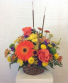 Autumn hedgerow vase arrangement