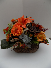 Harvest Time Silk Arrangement