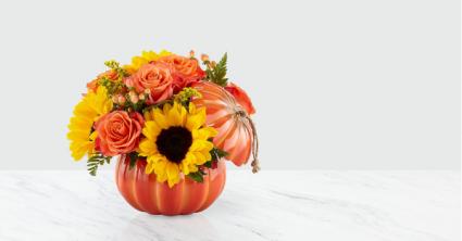 Harvest Traditions Pumpkin Bouquet 19-F2
