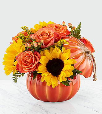 Harvest Traditions Pumpkin Bouquet Fall