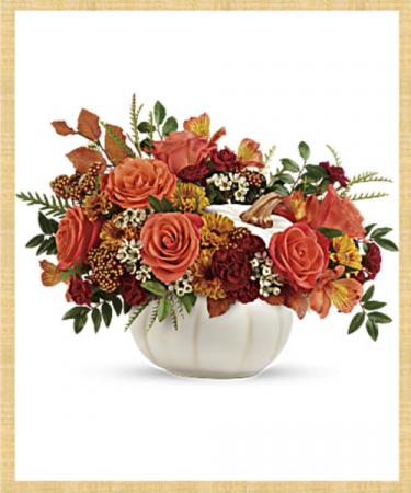 Harvest White Pumpkin Bouquet SOLD OUT