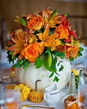 Harvest White Pumpkin  in Arlington, TX   Pantego Florist & Gifts