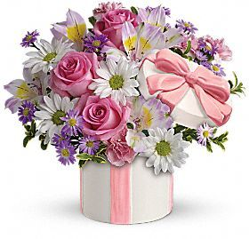 Hats Off To You (only one left) All-Around Floral Arrangement