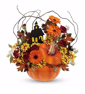 Haunted House Bouquet Halloween Bouquet in Coral Springs, FL | DARBY'S FLORIST