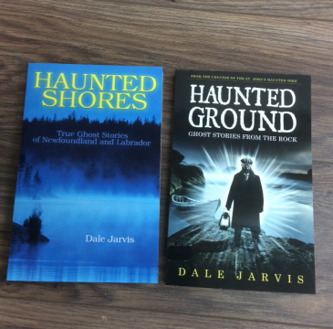 Haunted Shores.  Haunted Ground NL books