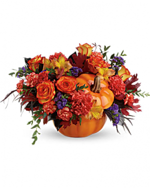 Hauntingly Pretty Pumpkin  in Kingston, TN | Rosemary's Florist Gifts & More