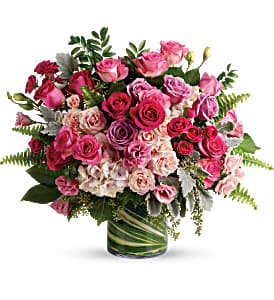 Haute Pink Bouquet in Coral Springs, FL | DARBY'S FLORIST