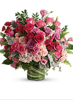 Haute Pink Bouquet   in Dearborn, MI | LAMA'S FLORIST