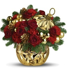 Have A Ball  Christmas centerpiece