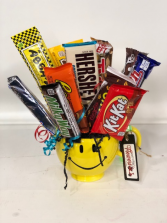 Have a Great Day Mug Candy Arrangement