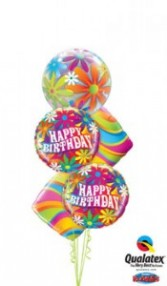 Have a 'GROOVY' birthday balloons