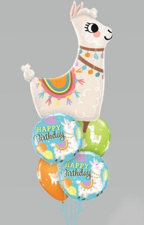 Have a Llamazing Birthday  balloons
